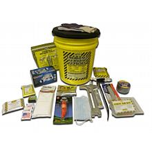 Earthquake Survival Deluxe Kit - 1 Person Bucket