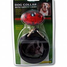 Dog Collar with Safety Light