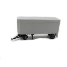 Z 28' Flush Deck Pup Trailer