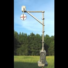HO Magnetic Signal Co. Model 3 Wigwag Flagman