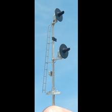 HO Pole Mount Searchlight Signal