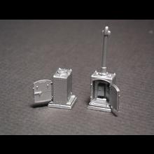 HO US&S Type Single Door Relay Cabinet