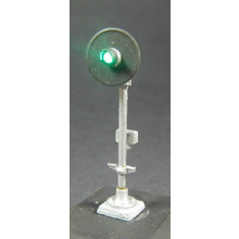 HO Pole Mount Dwarf Signal Kit (type SA)