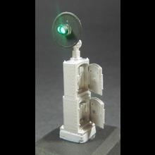 HO Tall Cabinet Mount Dwarf Signal Kit (type SA)