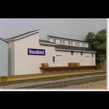 HO Sunkist Packing Shed