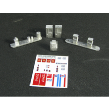 Z Scale Convenience Store Accessories