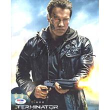 Arnold Schwarzenegger Terminator Genisys Signed 8x10 Photo Certified Authentic PSA/DNA COA