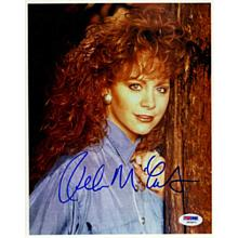 Reba McEntire Young Signed 8x10 Photo Certified Authentic PSA/DNA COA