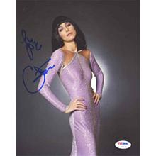 Cher Signed Great 8x10 Photo Certified Authentic PSA/DNA COA