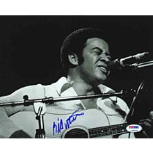 Bill Withers Signed 8x10 Photo Certified Authentic PSA/DNA COA AFTAL