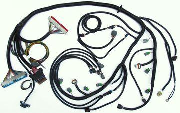 2005 2007 24x gen iv ls2 w 4l60e standalone wiring harness (dbw) computer wiring harness standalone wiring harness ls1 4l60e #16