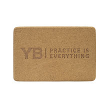 "Cork Yoga Block | YOGABODY® Original ""Corky the Block"""