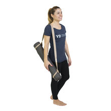 Beige Super Yoga Strap & Mat Carrier, 2-in-1 by YOGABODY™