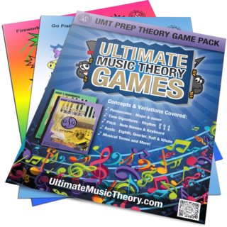 Prep Music Theory Game Pack