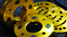 MAX Bolt On Wheel Spacers 15mm thick for 2 wheels  5 lug 1.25 thread 114.3 spacing 66.2 center bore Nissan S13, S14 etc.