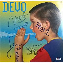 Devo Shout Signed Record Album LP Certified Authentic PSA/DNA COA
