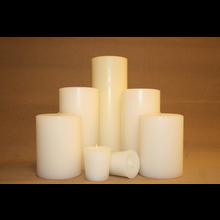 Vanilla Sandalwood 4 Inch Pillar