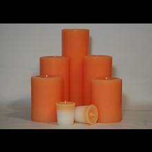 4 Inch Peach Pillar