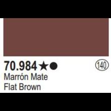 Vallejo Flat Brown