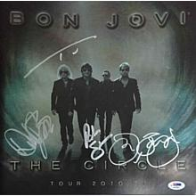 Bon Jovi 'The Circle' Rare Signed Tour Program Book Certified Authentic PSA/DNA COA