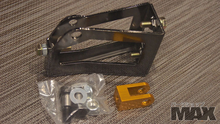 MAX Hydraulic Hand Brake base structure w/ hardware