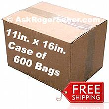 Case Pack of 600 11x16 in. Vacuum Sealer Bags ** FREE Shipping **