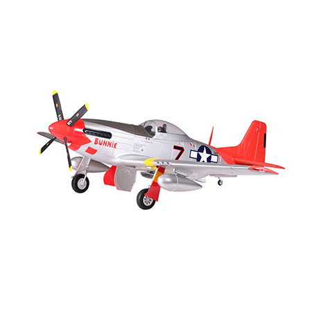 P-51D, Red Tail, PNP, 1700mm