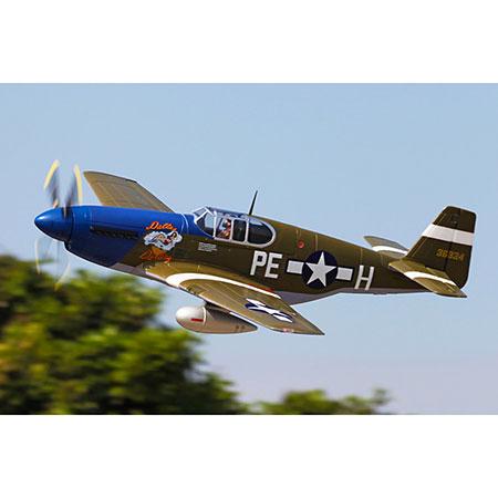 P-51B, Dallas Darling,PNP,1450mm