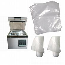 Chamber Vacuum Sealers,  Bags, Pouches, and Rolls
