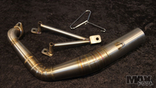 Scooter Exhaust Header Pipe for Scooters with 150cc GY6 motor