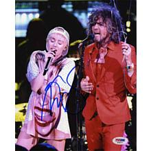 Miley Cyrus Signed 8x10 Photo Certified Authentic PSA/DNA COA