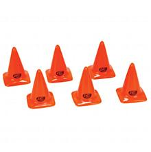 "Course/Track Cones, Orange 2.75"" (6)"