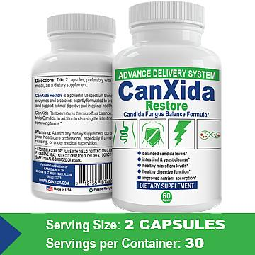 CanXida Restore – Advanced Formula, Time Released, Shelf
