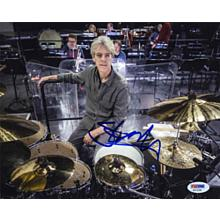 "Stewart Copeland ""The Police"" Signed 8x10 Photo Certified Authentic PSA/DNA COA"
