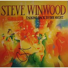 Steve Winwood Talking Back to the Night Signed Record Album LP Certified Authentic PSA/DNA COA