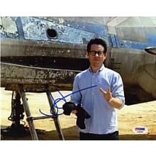 J.J. Abrams 'Star Wars The Force Awakens' Signed 8x10 Photo Certified Authentic PSA/DNA COA
