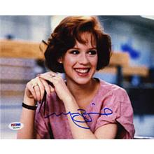 Molly Ringwald Breakfast Club Signed 8x10 Photo Certified Authentic PSA/DNA COA
