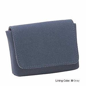 Business Card Case Deco - Slate Blue