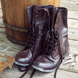 Leather Boots 7.5