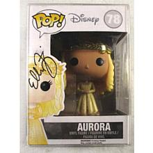 Elle Fanning Maleficent Aurora Signed Funko Pop Doll Certified Authentic PSA/DNA COA