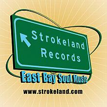 Strokeland Records Logo Sticker