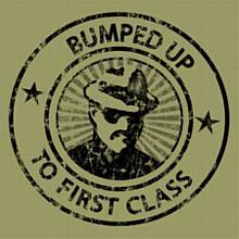 Bumped Up to First Class T-Shirt, Khaki Green
