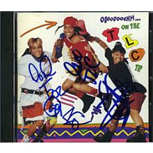 TLC Group Signed CD Certified Authentic PSA/DNA COA