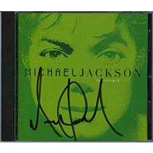 Michael Jackson Signed CD Certified Authentic PSA/DNA COA