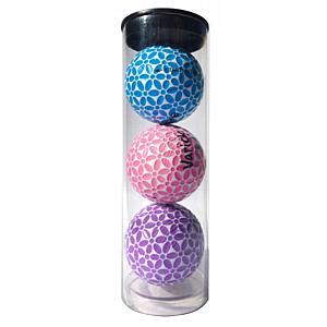 Bright Tube of 3 Varick Golf Balls