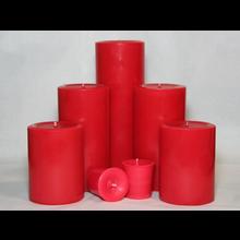 9 inch Cranberry Spice Pillar