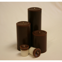 6 inch Chocolate Pillar