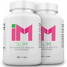 IM Slim Fat Burner & Appetite Suppressant - 2 Bottles