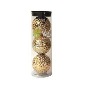 Tube of three Gold on White Varick Golf balls