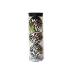 Tube of three Silver on Black Varick Golf balls